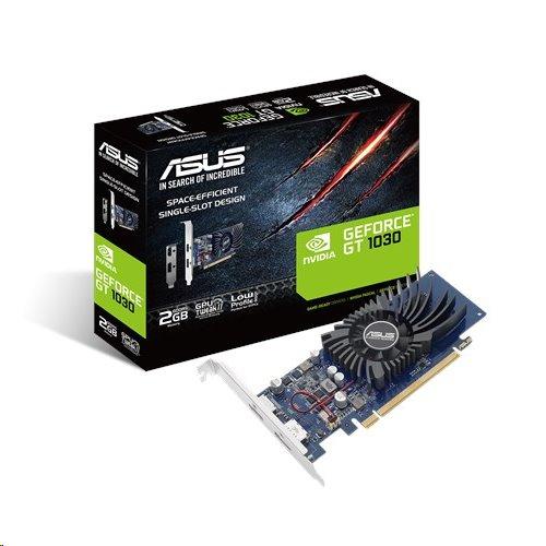 ASUS GT1030-2G-BRK, 2GB/64-bit GDDR5, HDMI, DP, LP