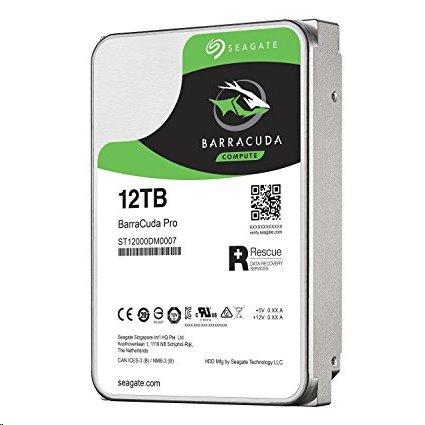 Seagate Barracuda Pro 12TB 7200RPM 256MB SATA III 6Gbit/s