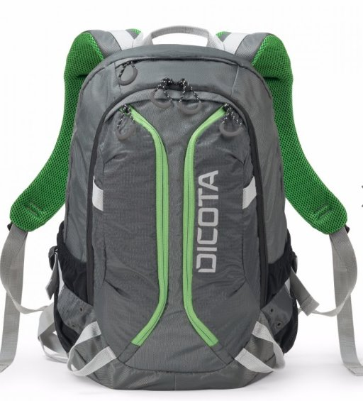 DICOTA_Backpack Active 14 - 15.6 Grey/lime