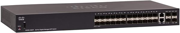 Cisco SG350-28SFP 28-port Gigabit Managed SFP Switch