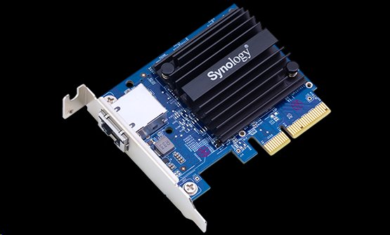 Synology™ single RJ45 port 10 Gbps Ethernet adapter