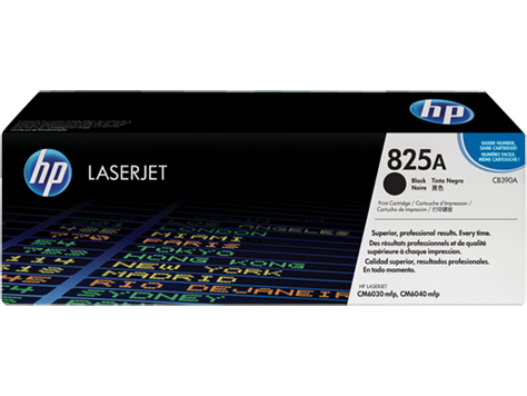 HP Color LaserJet CB390A Black Print Cartridge with ColorSphere toner 19.500str
