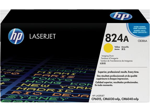 HP Color LaserJet CB386A Yellow Image Drum