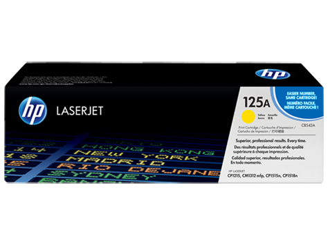 HP Toner Cartridge Yellow for CLJ CP1215/1515 (1400 pages)