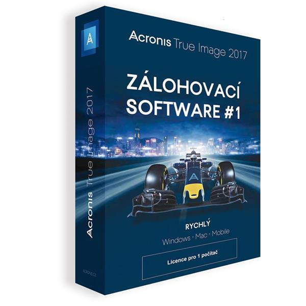 BOX Acronis True Image 2019 - 3 Computers