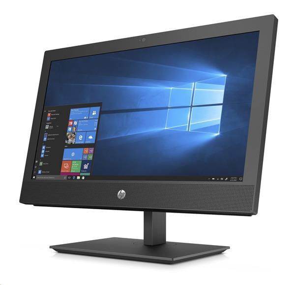 HP ProOne 400 G4, i5-8500T, 20 HD+, IntelHD, 8GB, 256GB SSD, DVDRW, W10Pro, WiFi a/b/g/n/ac + BT, 1y
