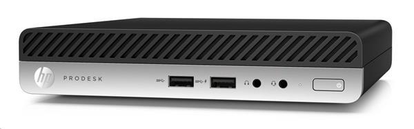 HP ProDesk 400 G4 DM, i3-8100T, 4GB, SSD 128GB, W10Pro, 1Y