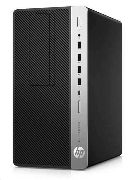HP EliteDesk 705 G4 MT, R5Pro-2400G, 8GB, SSD 256GB, DVDRW, W10Pro, 3Y