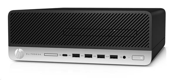 HP EliteDesk 705 G4 SFF, Ryzen 5 Pro 2400G, Radeon RX Vega 11, 8GB, SSD 256GB, DVDRW, W10Pro, 3-3-3