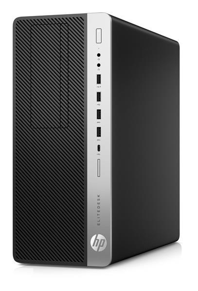 HP EliteDesk 800 G4 TWR, i7-8700, IntelHD, 8GB, 256GB SSD, DVDRW, W10Pro, 3y