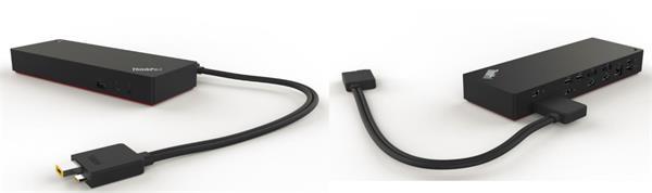 Lenovo ThinkPad Thunderbolt 3 Dock - 230W (2x DisplayPort, 2x HDMI, RJ45, 5xUSB-C, 1xUSB 3.1,adapter)pripojit max.3x LCD