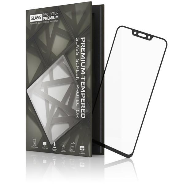 Glass Protector temperované sklo pre Huawei Nova 3; 0.3mm; Čierny rámik