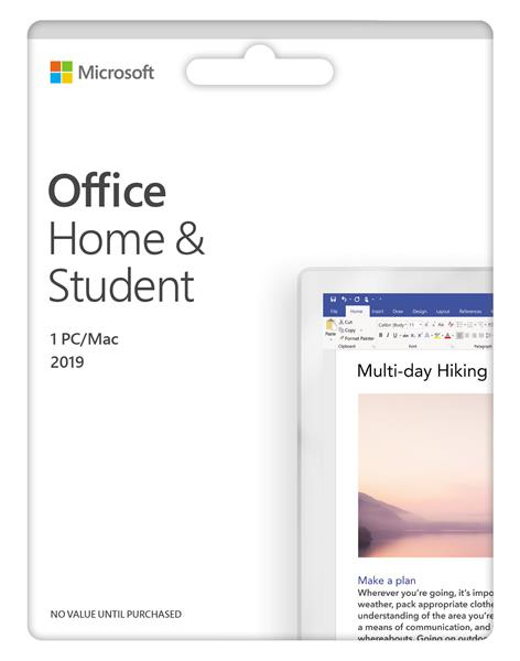 Office 2019 pre studentov a domácnosti - English Medialess