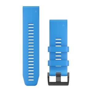 Silikonový remienok QuickFit™ 26 na zápästie fénix 3 / 5X (Plus) / tactix - modrý Cyan (ND)