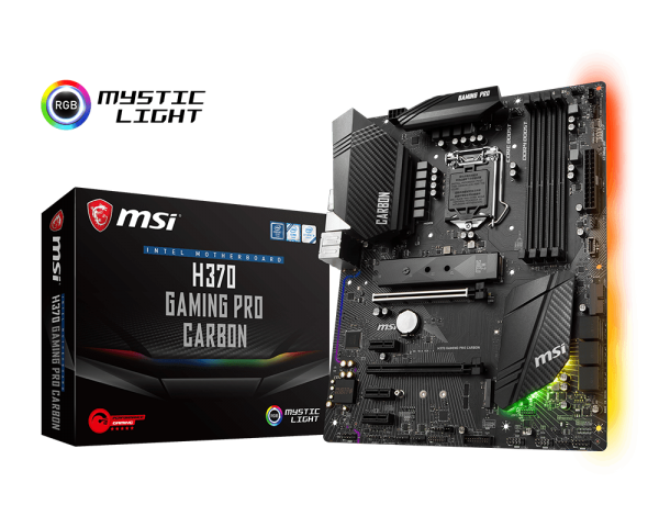 MSI H370 GAMING PRO CARBON/Socket 1151/DDR4/USB3.1/HDMI/DP/ATX