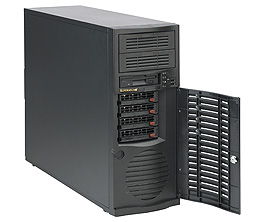 Supermicro® CSE-733TQ-465BTower