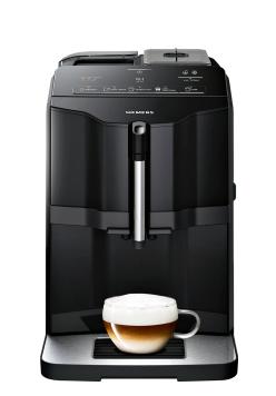 SIEMENS_15 bar, sensoFlow, coffeeDirect, keramický mlynček, čierny