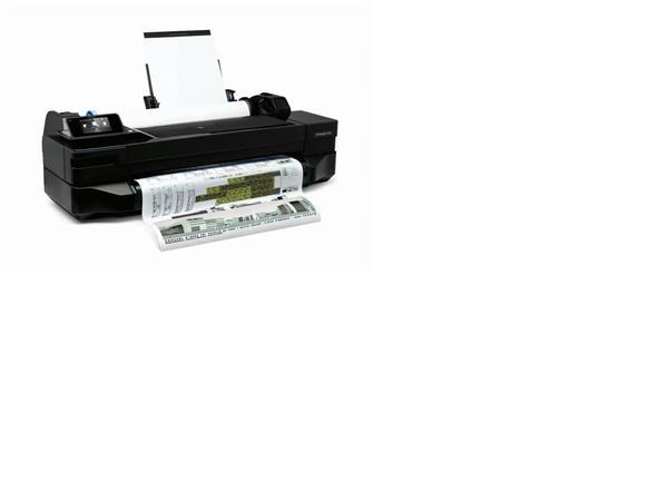 HP Designjet T120 24-in ePrinter A1 poškodená krabica