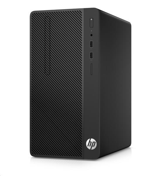 HP 290 G1 MT, i3-7100, 4GB, SSD 128GB, DVDRW, W10Pro, 1Y