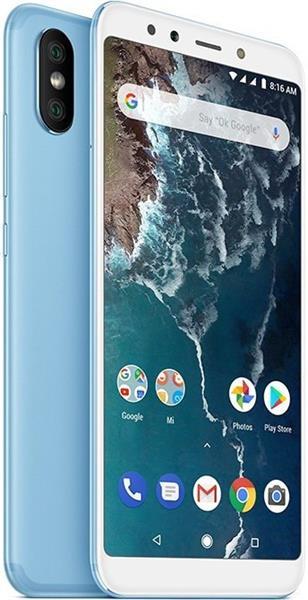 Xiaomi Mi A2 64GB, Dual SIM, modrý