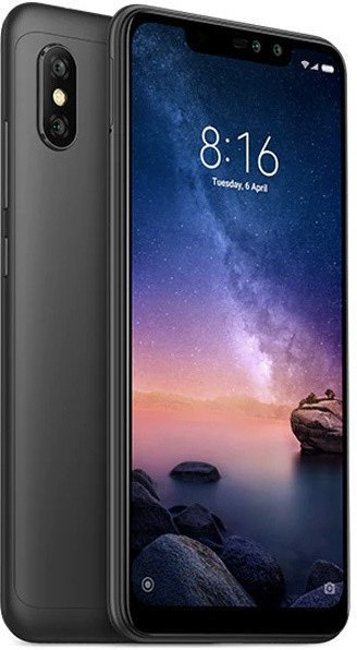 Xiaomi Redmi Note 6 Pro, 64GB, Dual SIM, čierny