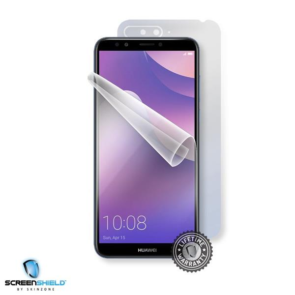 Screenshield HUAWEI Y6 Prime 2018 - Film for display + body protection