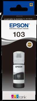 Epson atrament L3xxx Black ink container 65ml - 4500str.