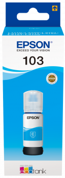 Epson atrament L3xxx Cyan ink container 65ml - 7500str.