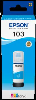 Epson atrament L3xxx Cyan ink container 65ml - 7500str.