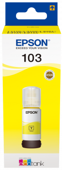 Epson atrament L3xxx Yellow ink container 65ml - 7500str.