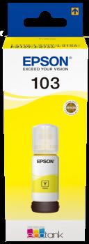 Epson atrament L3xxx Yellow ink container 65ml - 7500str.