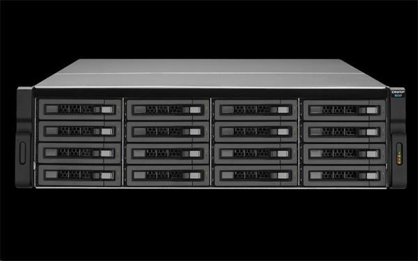QNAP™ REXP-1620U-RP 16 bay RAID Expansion Enclosure 3U rack RP PSU