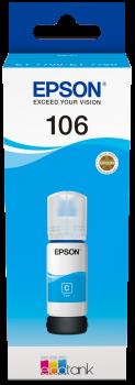 Epson atrament L71xx Cyan ink container 70ml - 5000str.