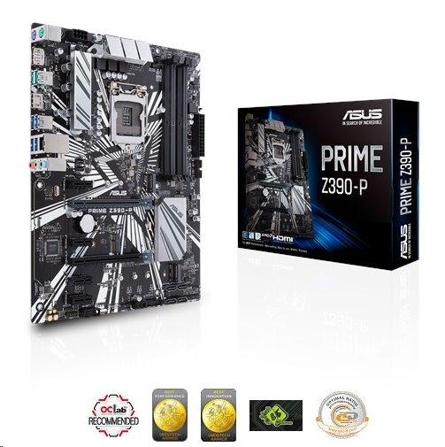 ASUS PRIME Z390-P soc.1151 Z390 DDR4 ATX M.2 RAID USB3.1 HDMI DP