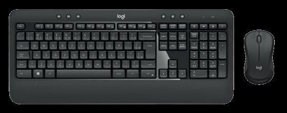 Logitech® MK540 ADVANCED Wireless Keyboard and Mouse Combo, SK