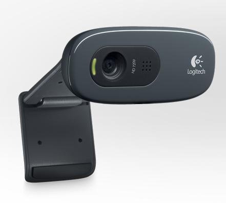 Logitech® HD Webcam C270 - USB, POSKODENA KRABICA
