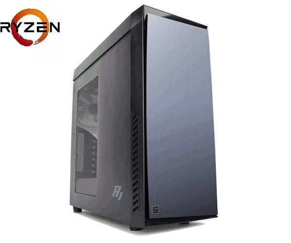 Prestigio Xtreme Ryzen 5 1600X (4,0G) RX570 8GB 1TB+240GB SSD DVDRW KLV+MYS W10 64bit