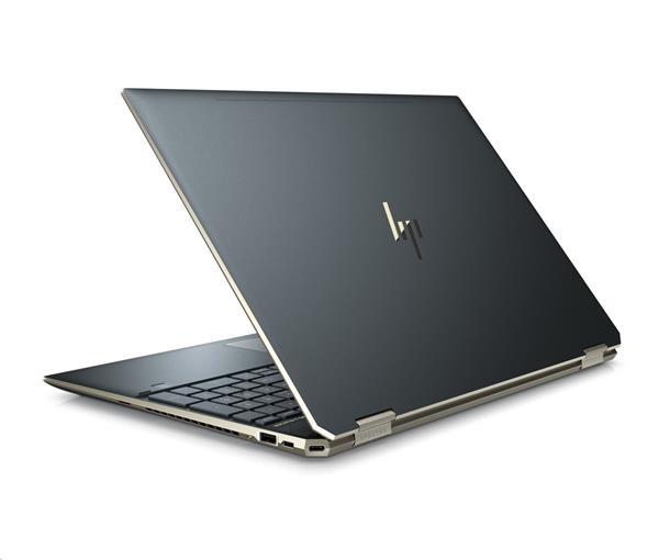 HP Spectre x360 15-df0004nc, I7-8750H, 15.6 UHD/IPS/Touch, GTX1050Ti/4GB, 16GB, SSD 512GB, ., W10, 2/2/0, Poseidon blue
