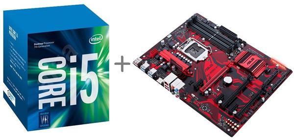 Výhodný balík - Intel® Core™i5-7400 processor + ASUS EX-B250-V7 GAMING