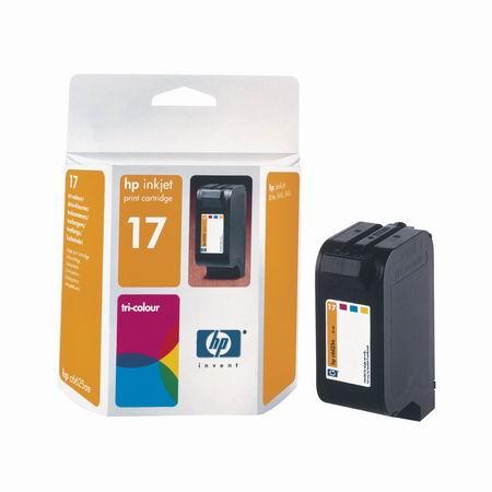 HP No.17 tri-colour inkjet cartridge (15 ml)