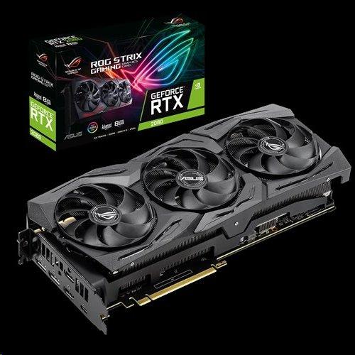 ASUS ROG-STRIX RTX2080-A8G-GAMING 8GB/256-bit, GDDR6, 2xHDMI, 2xDP, USB-C