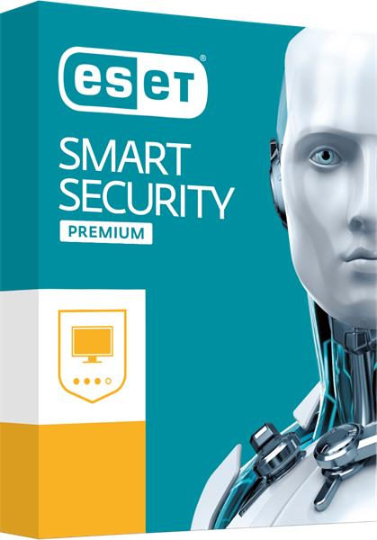 BOX ESET Smart Security Premium pre 4PC / 2 roky