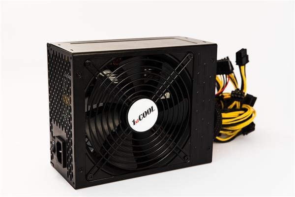 Zdroj 1650W 1stCOOL MINER 1600, účinnosť 90+, 14cm ventilátor