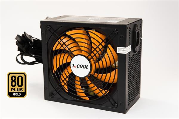 Zdroj 750W 1stCOOL GOLDEN WORKER 750, účinnosť 90+, 14cm ventilátor, bulk