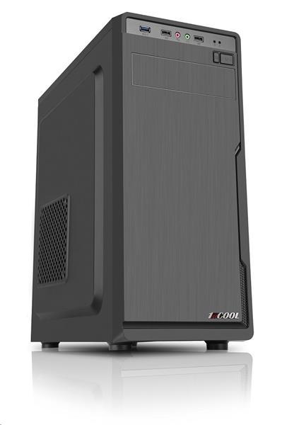 1stCOOL JAZZ 1, skrinka ATX, USB3.0, čierna