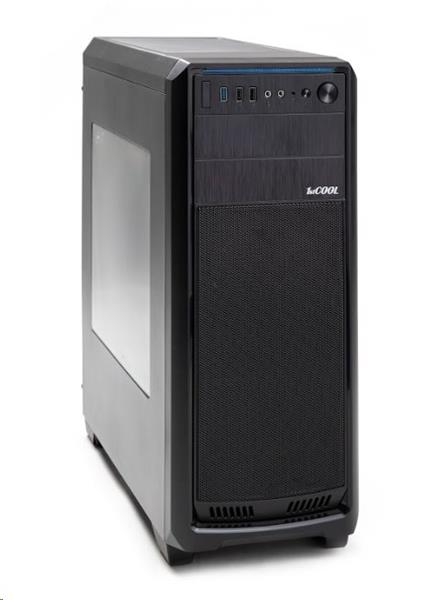 1stCOOL FullTower GAMER 1, skrinka ATX, USB3.0, čierna