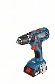 Bosch GSB 18-2-LI Plus; 2x 2,0 Ah; kufor