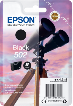 Epson atrament XP-5100 black 4.6ml - 210 str.