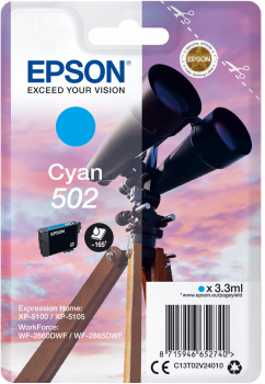 Epson atrament XP-5100 cyan 3.3ml - 165 str.
