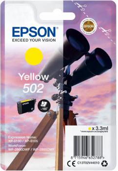Epson atrament XP-5100 yellow 3.3ml - 165 str.